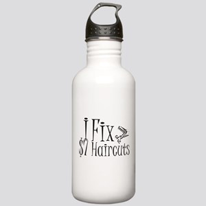 I Fix $7 Haircuts Stainless Water Bottle 1.0L