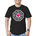 Dharma Love Men's Fitted T-Shirt (dark)