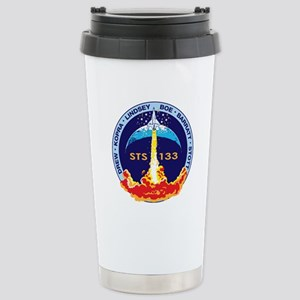 STS 133 Discovery Stainless Steel Travel Mug