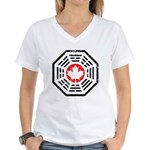 Dharma Eh Women's V-Neck T-Shirt