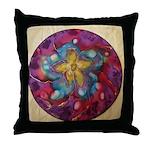 Silk Mandala 1 - Throw Pillow
