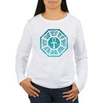 Dharma Blue Ankh Women's Long Sleeve T-Shirt