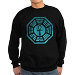 Dharma Blue Ankh Sweatshirt (dark)