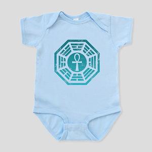Dharma Blue Ankh Infant Bodysuit