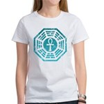 Dharma Blue Ankh Women's T-Shirt