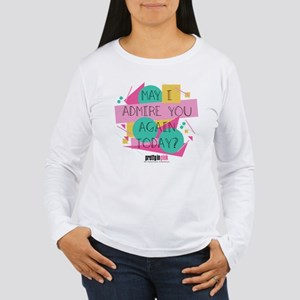 Pretty in Pink: May I Women's Long Sleeve T-Shirt