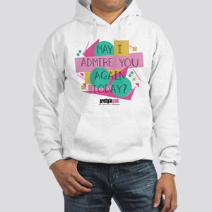 Pretty in Pink: May I Admire You Hooded Sweatshirt