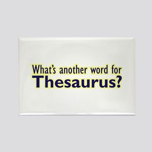 Thesaurus Rectangle Magnet
