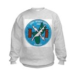 NAVAL SECURITY GROUP, COMSEC, GUAM Kids Sweatshirt