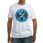 NAVAL SECURITY GROUP, COMSEC, GUAM Fitted T-Shirt