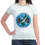 NAVAL SECURITY GROUP, COMSEC, G Jr. Ringer T-Shirt