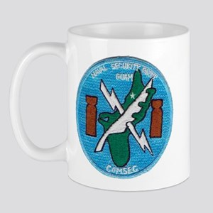 NAVAL SECURITY GROUP, COMSEC, GUAM Mug