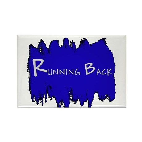 Running Back Rectangle Magnet (10 pack)