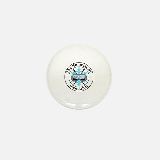 Funny Homesteading Mini Button