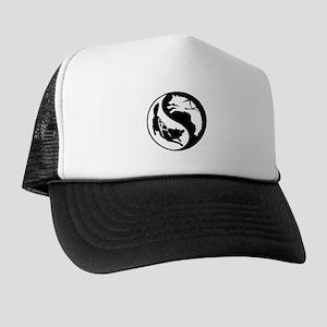 Yin-Yang Huskies Trucker Hat