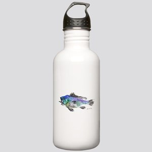 Black Sea Bass Stainless Water Bottle 1.0L