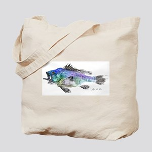 Black Sea Bass Tote Bag