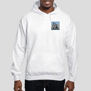 Boston Skyline Hooded Sweatshirt