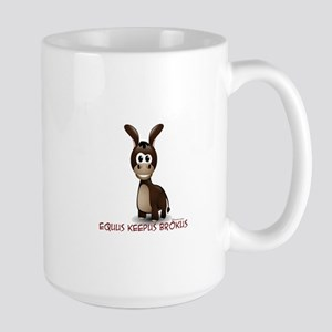 Equus Keepus Brokus Large Mug