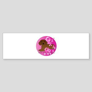 Dachshund Sticker (Bumper)