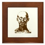 Bougery Face Sketch Framed Tile