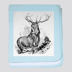 Elk baby blanket