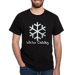 Winter Caching Dark T-Shirt