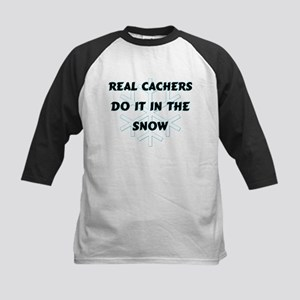 Real Cachers Kids Baseball Jersey
