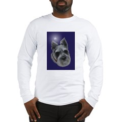 Mini Schnauzer Xmas Long Sleeve T-Shirt