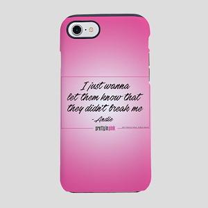 Pretty in Pink: Didn't Break M iPhone 7 Tough Case