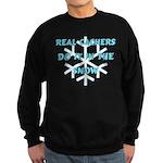 Real Cachers-Blue Sweatshirt (dark)
