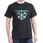 Real Cachers-Blue Dark T-Shirt