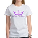 Kayak Princess-Purpel Women's T-Shirt