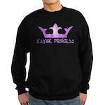 Kayak Princess-Purpel Sweatshirt (dark)