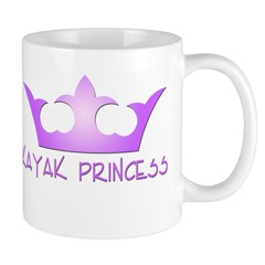 Kayak Princess-Purpel Mug