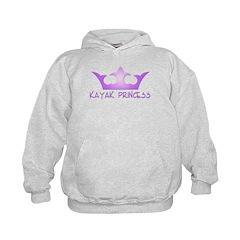 Kayak Princess-Purpel Hoodie