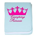 Camping Princess-Pink baby blanket