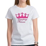 Camping Princess-Pink Women's T-Shirt