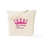 Camping Princess-Pink Tote Bag