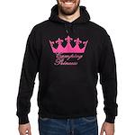 Camping Princess-Pink Hoodie (dark)
