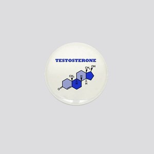Testosterone Mini Button