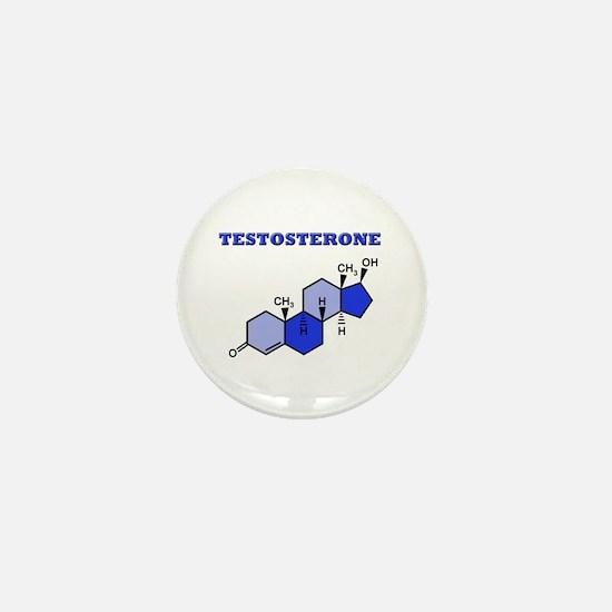 Testosterone Mini Button