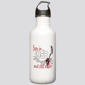 Born in 1958 Stainless Water Bottle 1.0L