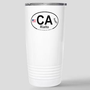 Rialto Stainless Steel Travel Mug