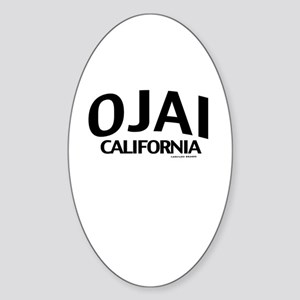 Ojai Sticker (Oval)