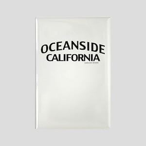 Oceanside Rectangle Magnet