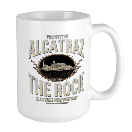 "ALCATRAZ ""THE ROCK"" Large Mug"