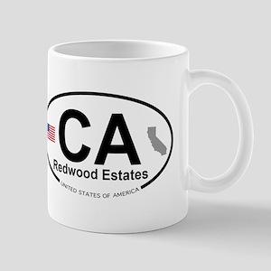 Redwood Estates Mug