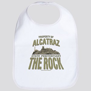 PROPERTY OF ALCATRAZ Bib