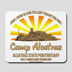 CAMP ALCATRAZ Mousepad